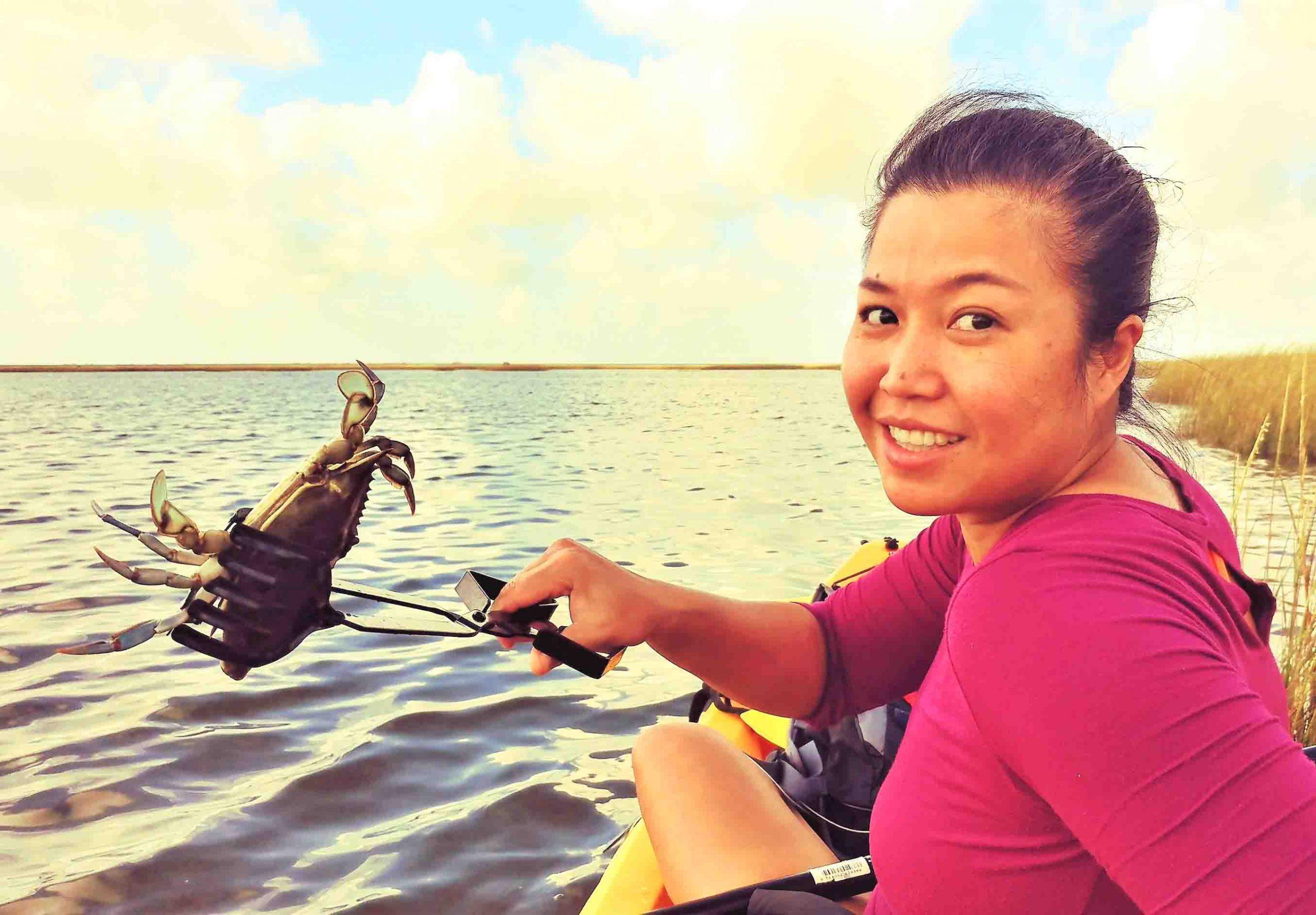 Mod Crabbing for Blue Crab, Galveston Texas