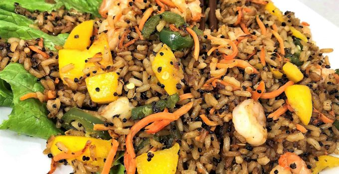 Quick and Dirty Mango Fried Rice