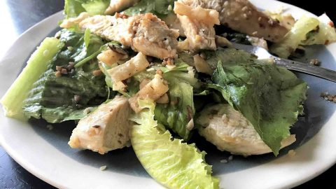 Super Easy Copycat Panera Asian Sesame Salad With Chicken