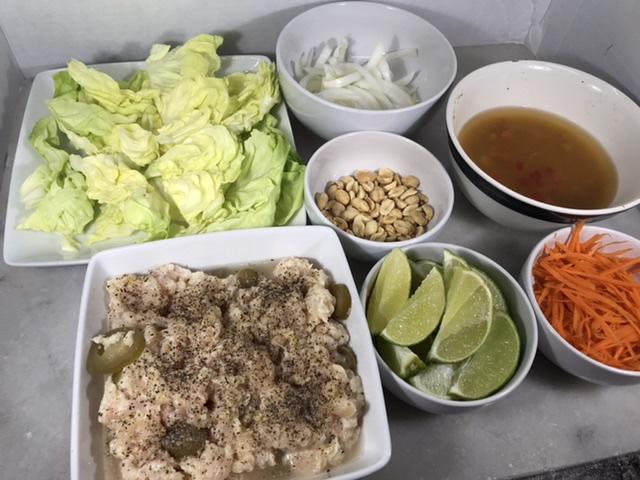 Nam Sod Ingredients