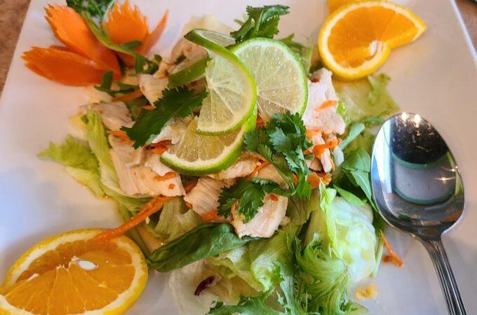 Lemon Pork Salad
