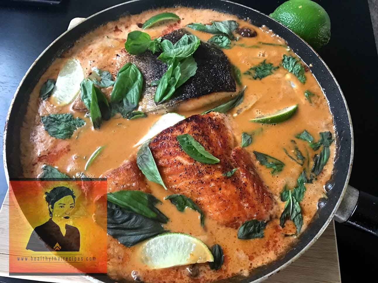 Spicy Coconut Lime Salmon