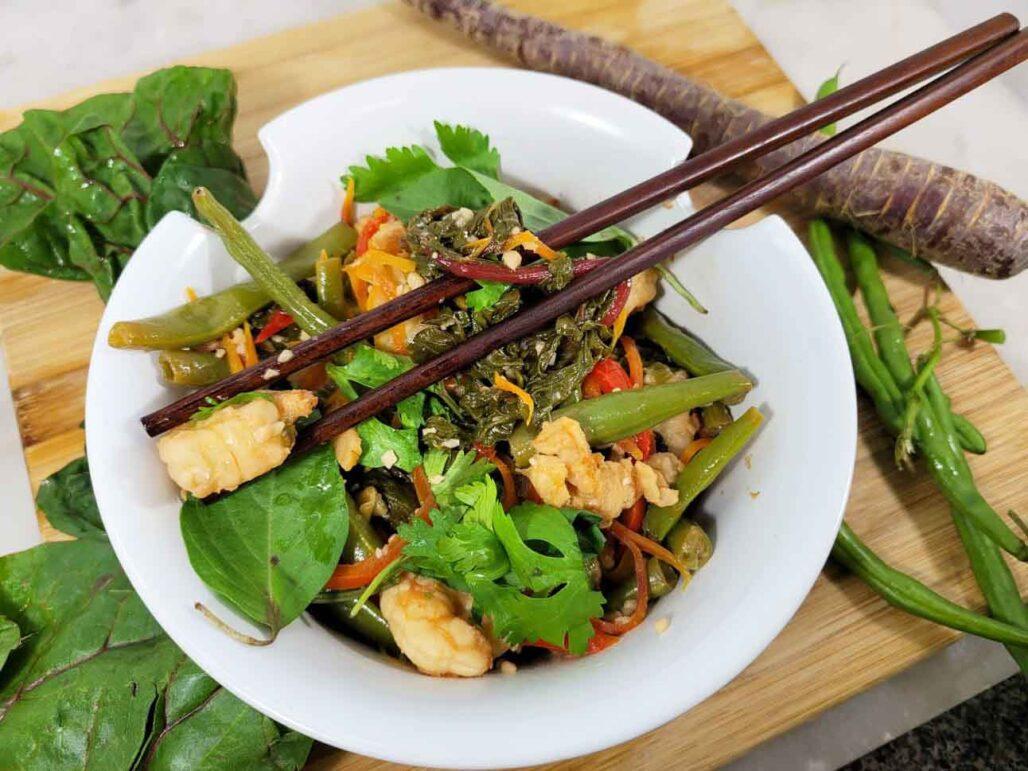 Stay Home Stay Safe Organic Stir-fry Recipe Using Farmbox Direct