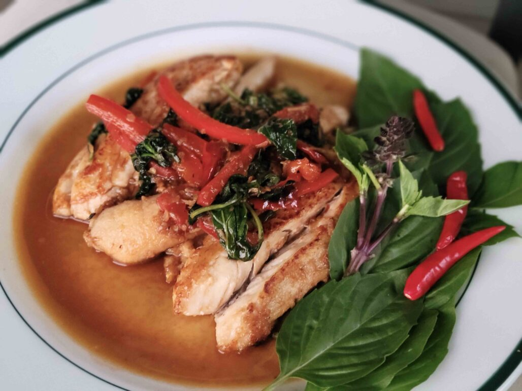 Thai Basil Redfish