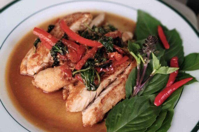 Thai Basil Redfish