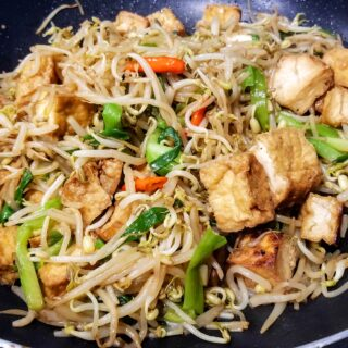 Stir-Fried Tofu Bean Sprouts
