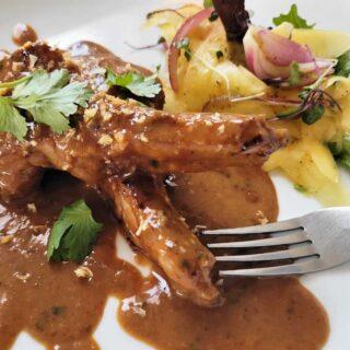 Panang Curry Lamb Chops