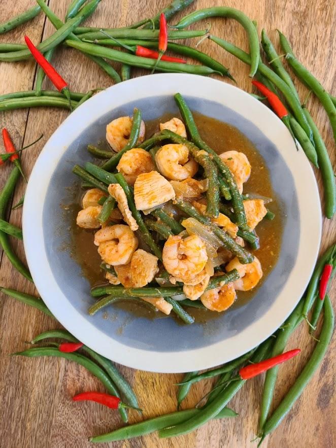 Copycat Fang's Bistro Thai Chicken and Shrimp