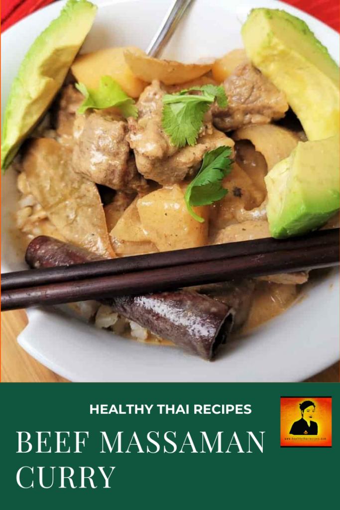 Beef Massaman Curry Pinterest