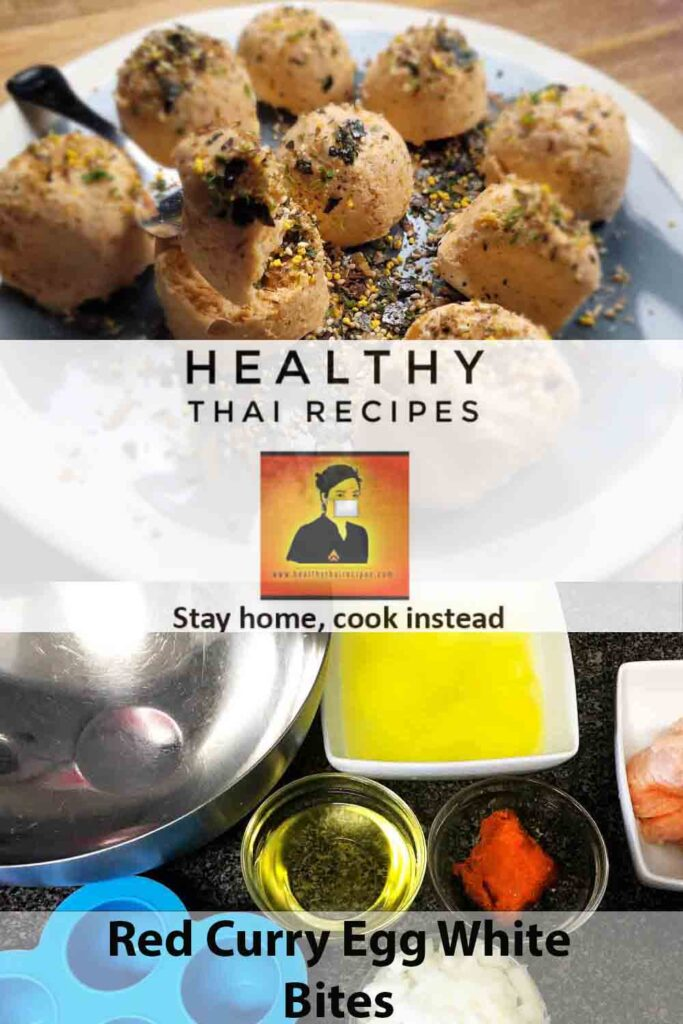 Instant Pot Red Curry Egg White Bites