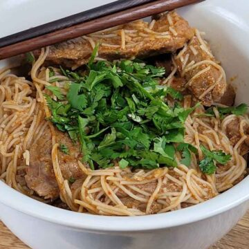 Thai Red Curry Steak Vermicelli