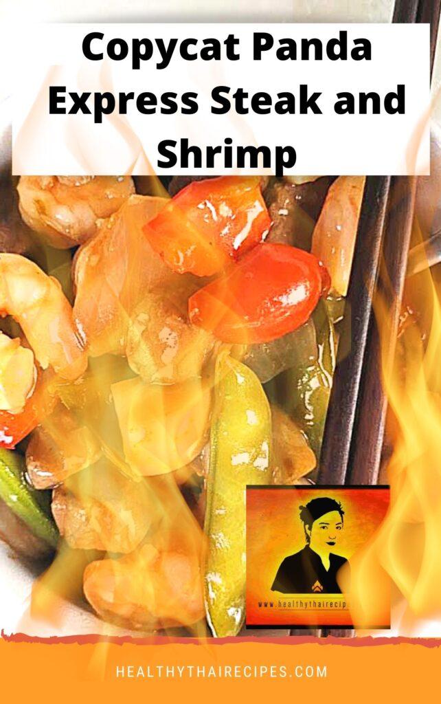 Copycat Panda Express Steak and Shrimp Recipe