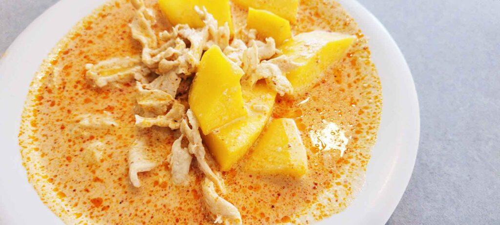 Thai Mango Curry