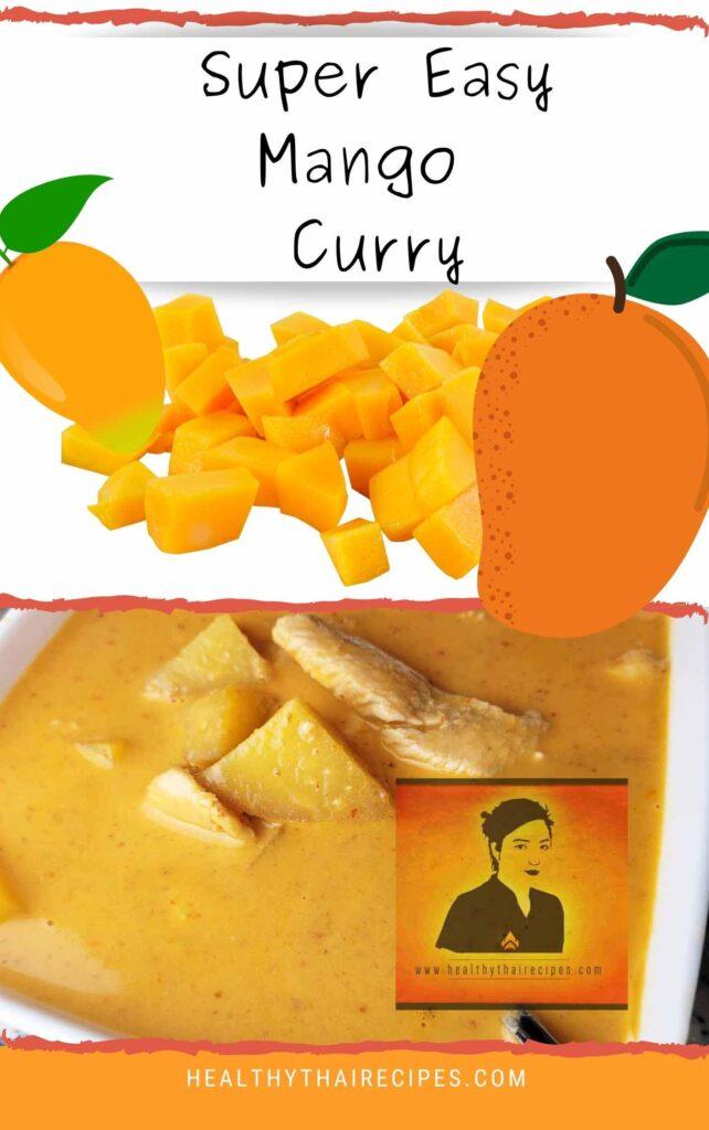 Mango Curry Pinterest Image