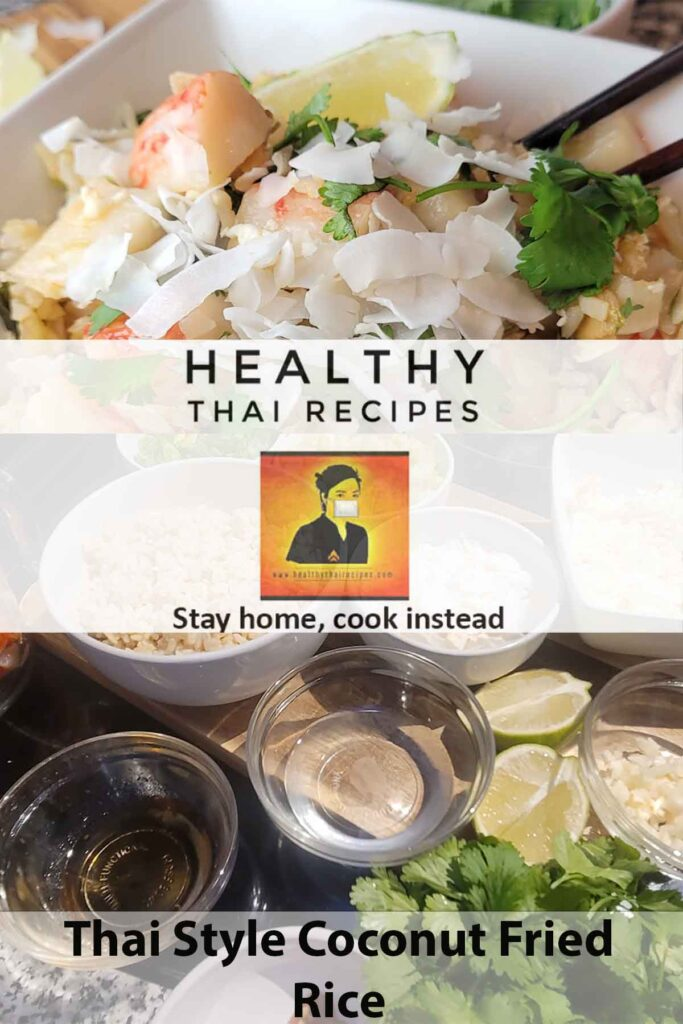 Thai Style Coconut Fried Rice